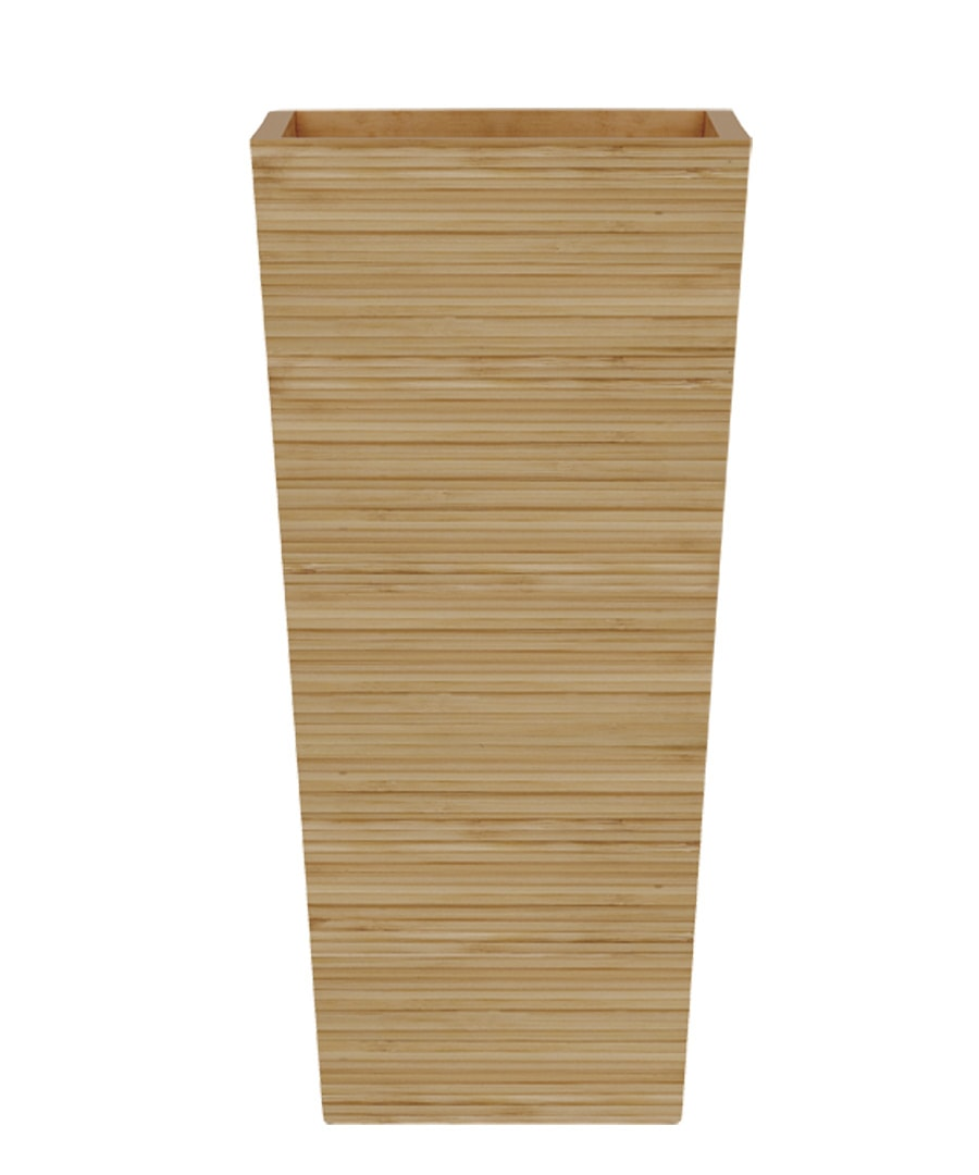 Container Guide Bamboo Tall Tapered Square