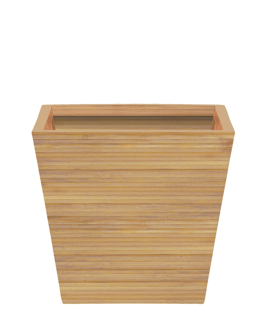 Container Guide Bamboo Tapered Square