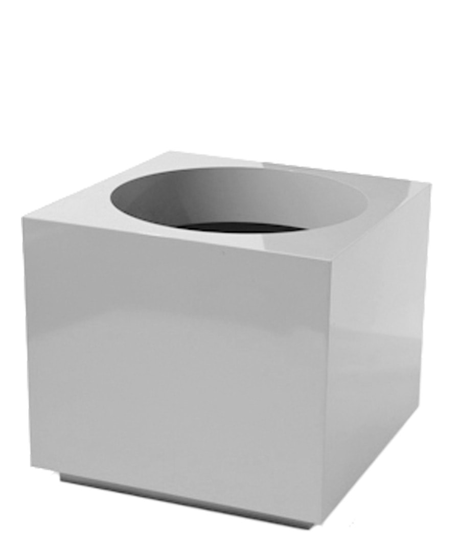 Fiberglass Container Block Planter