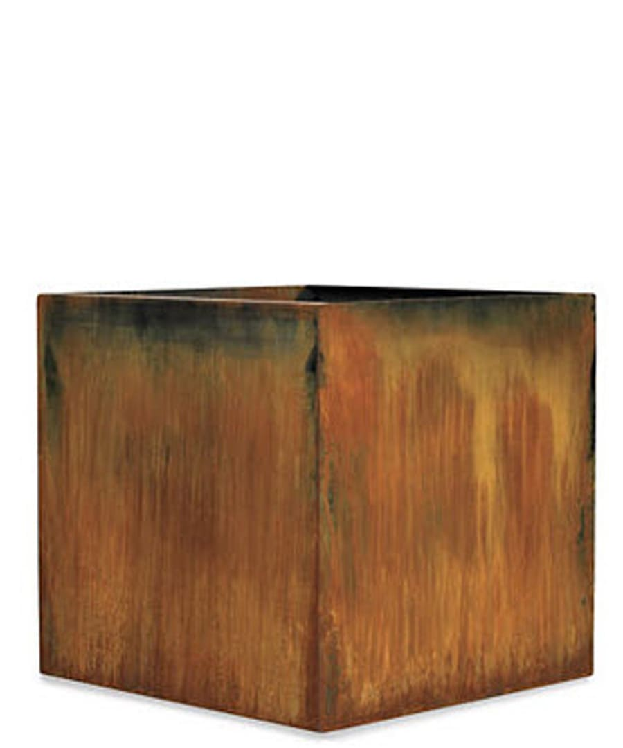 Container Planter Corten Steel Cube