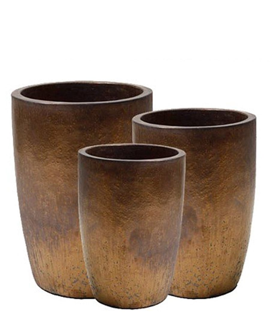 Ceramic Container Cylinder Planters