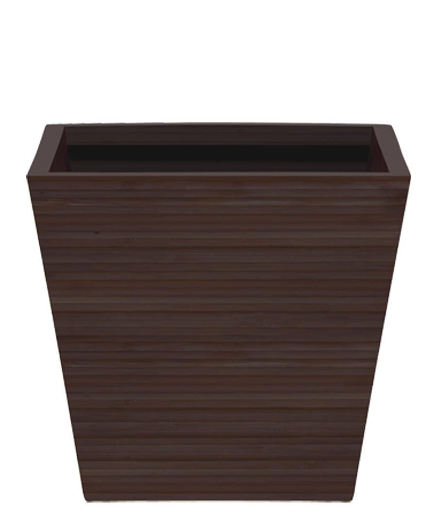 Container Guide Dark Bamboo Tapered Square