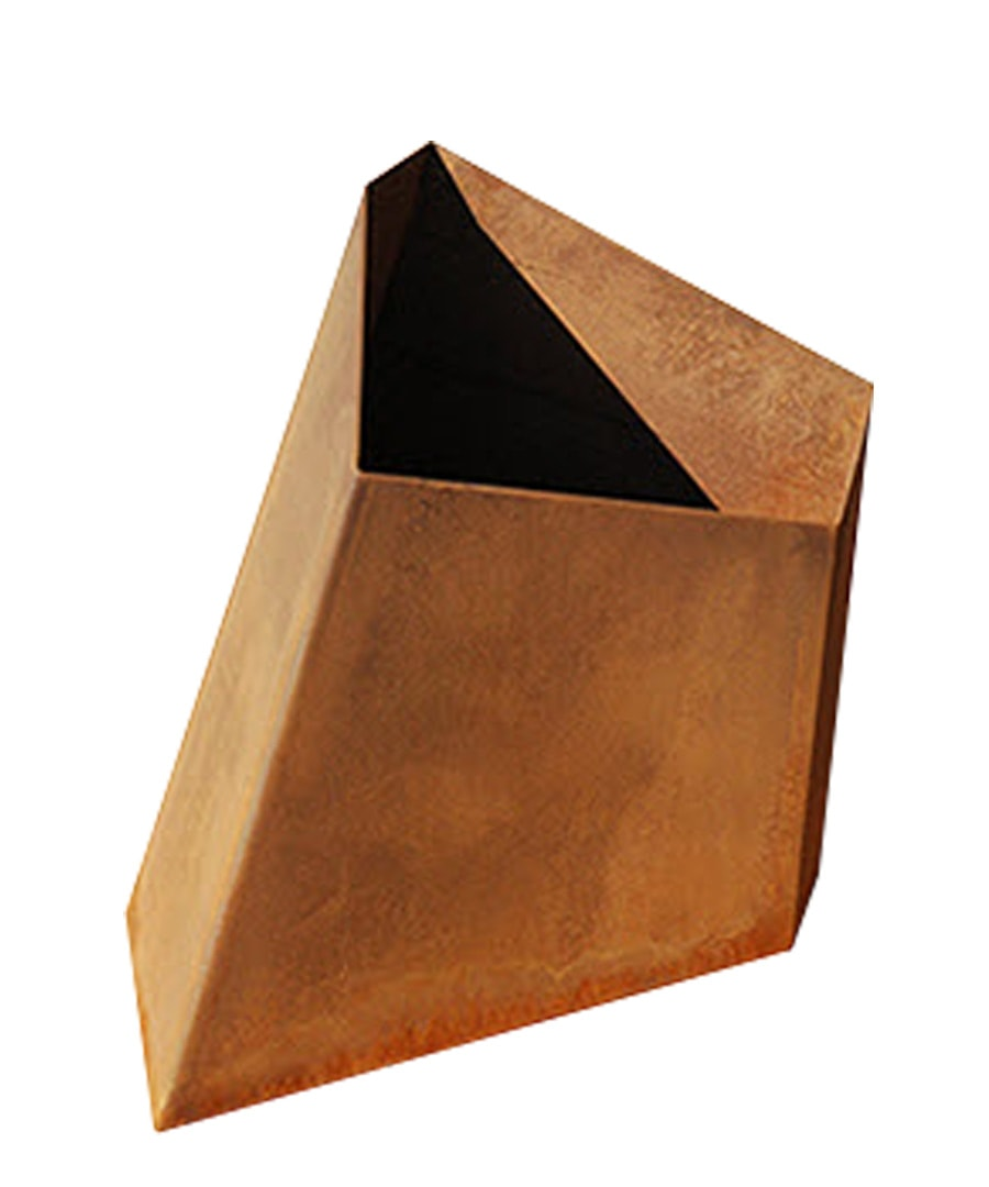 Container Planter Element-Planter-Corten-Steel