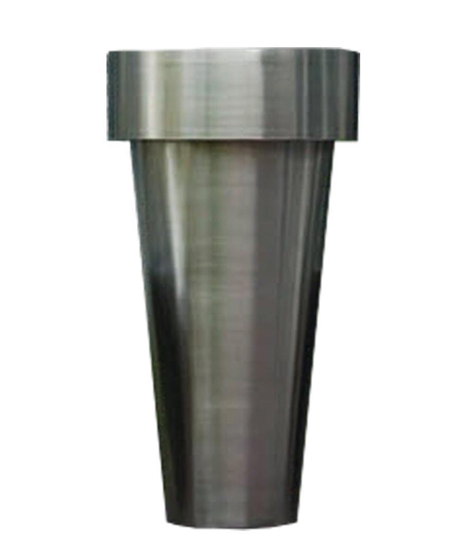 Container Metallic Flower Pot Planter