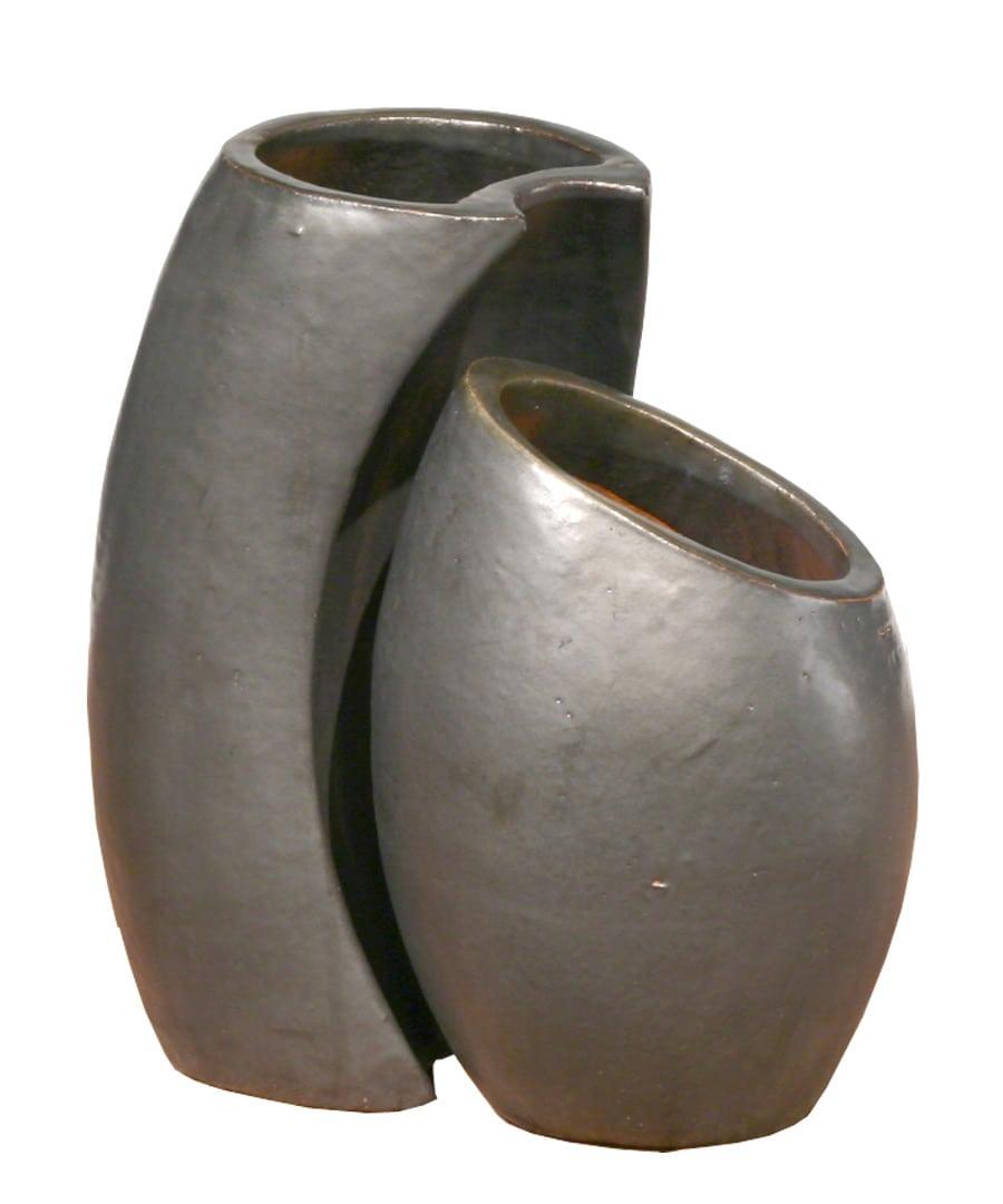Ceramic Container Nesting Planters