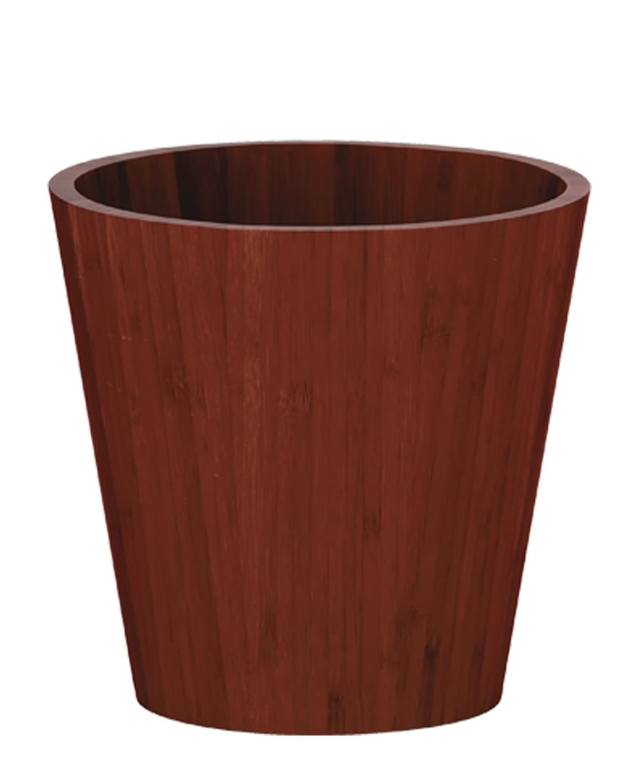 Container Guide Red Bamboo Cylinder