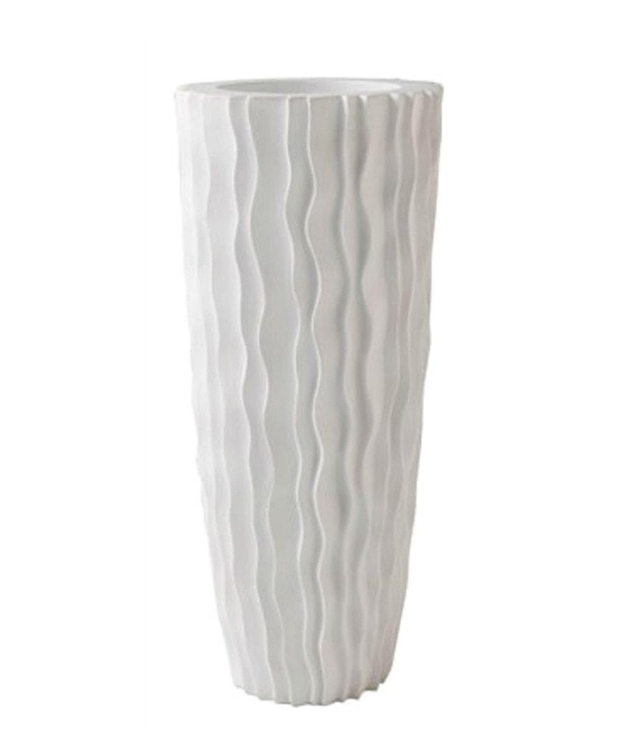 Fiberglass Container Vertical Fold Vase