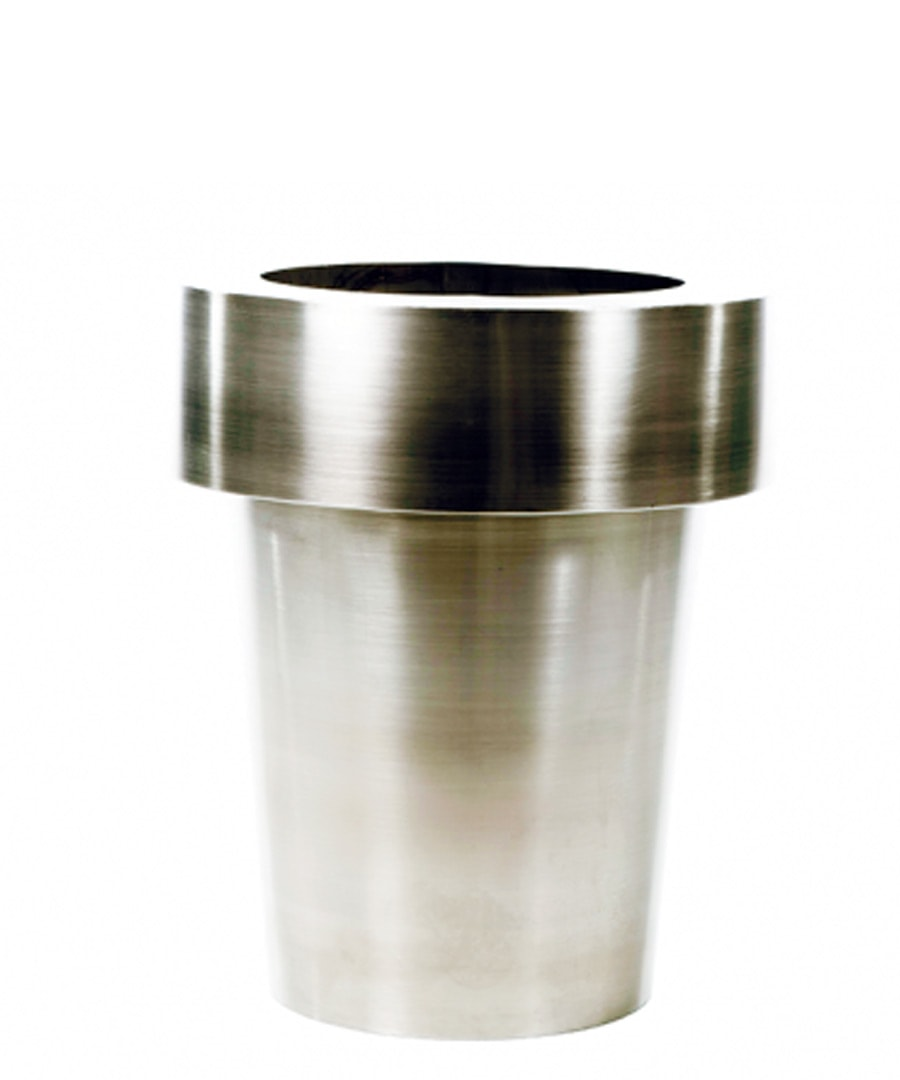 Container Planter Stainless Flower Pot